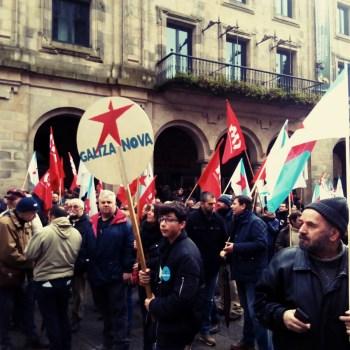 Manifestación nacional en defensa das pensións públicas