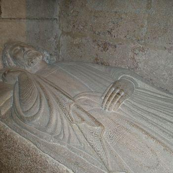 Fernando II e Afonso VIII Reis da Galiza no Panteón Real Compostelán