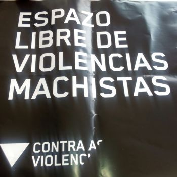 """Cedeira súmase á campaña """"en negro"""" contra a violencia patriarcal"""