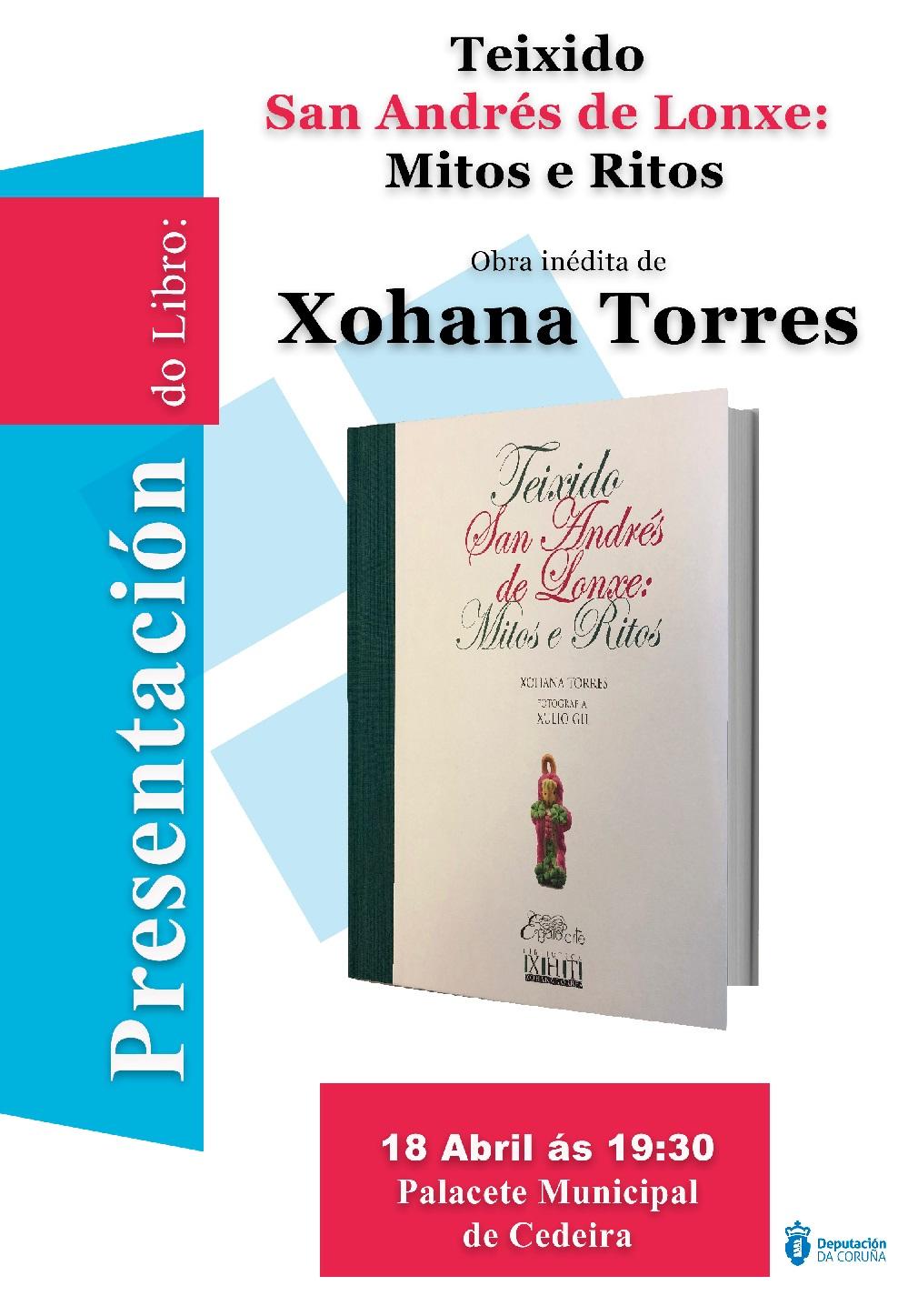 Presentación en Cedeira do libro inédito sobre Teixido de Xohana Torres