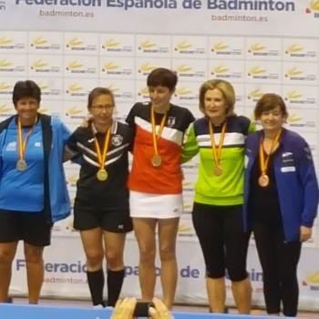 Camiño dos europeus senior de badminton