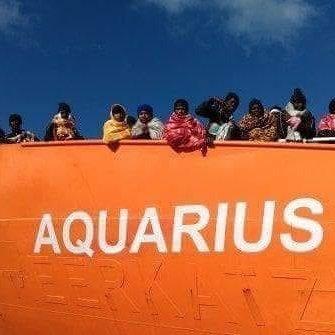O 'Aquarius' viaxará para Valencia, escoltado por navios militares italianos