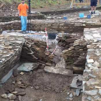 Nova fase de escavacións arqueolóxicas no Campo do Castro