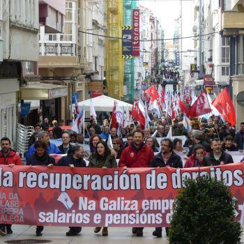 Pensionistas e xubilados/as da CIG anuncian a convocatoria de mobilizacións para o vindeiro xoves día 27 de setembro en diversas cidades e vilas