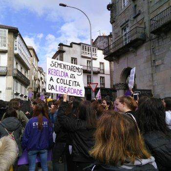 Ruas lilás, loita compartida en Galiza
