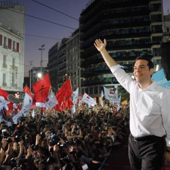 Tsipras, ao final da escapada