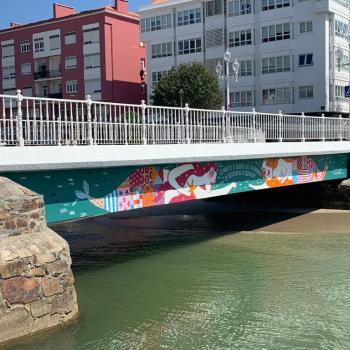 O pintor e a ponte: fitando Leandro Lamas en Cedeira