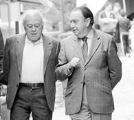 Jordi Pujol e Leopoldo Rubido