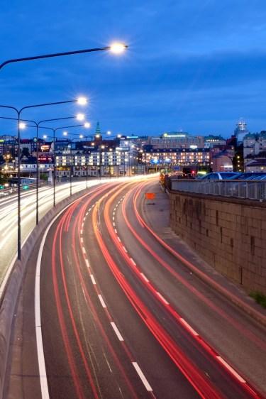 Traffic to Söder