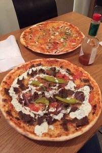 Kebab pizza at Ricardo's