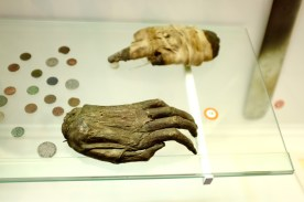 Severed hands of medieval thieves