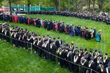 Marching through the new grads