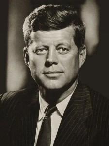John F Kennedy portrait