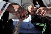 78 lake titicaca net hands