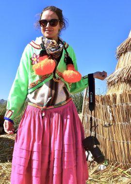87 lake titicaca uros dress