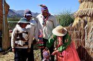 90 lake titicaca isla kantuta family