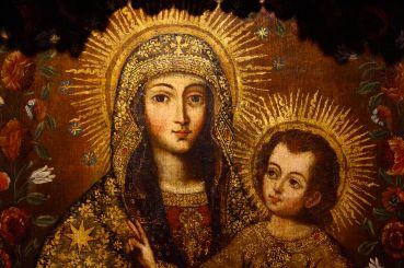 42 santa catalina monastery painting detail