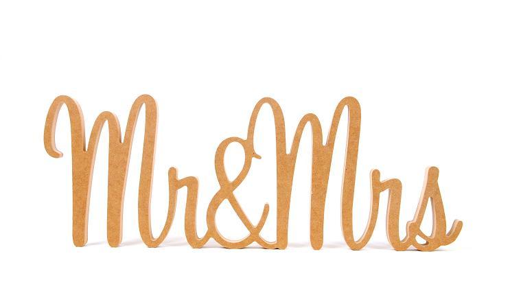 Custom Wooden Wedding Name Sign