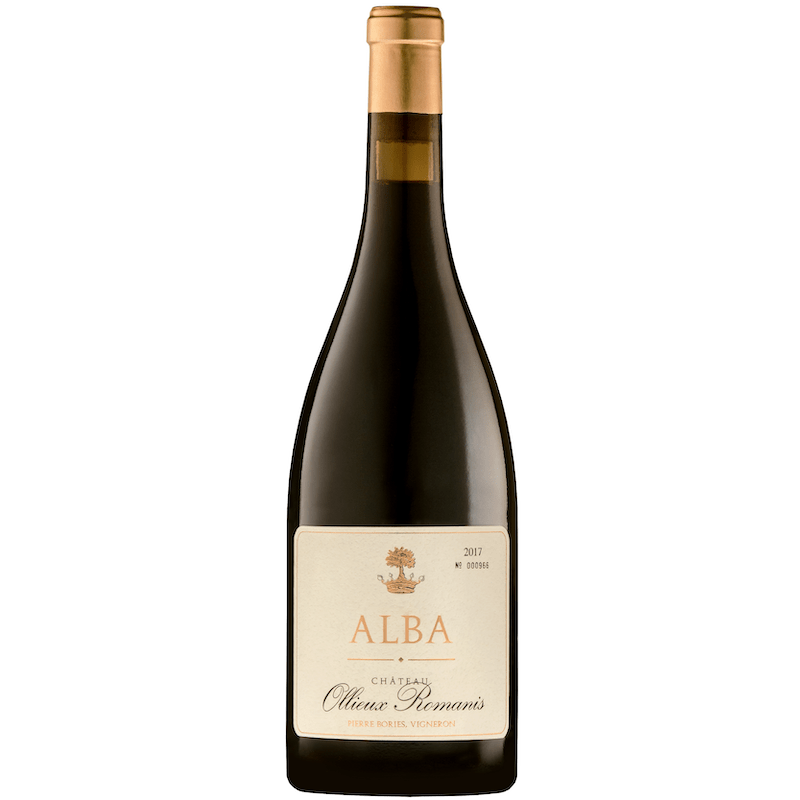 A photo of the Cuvée Alba Rouge