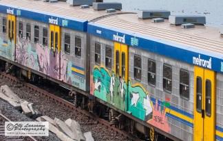 Repainted train