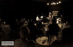 Koko Jazz Club 7.3.2013: Alexi Tuomarila (p), Eero Koivistoinen (ts), Jussi Lehtonen (dr)