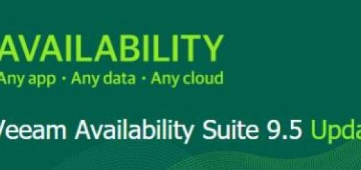 Veeam 9.5 Update 3