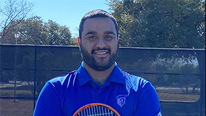Tennis Assistant Coach Kyle Fraser