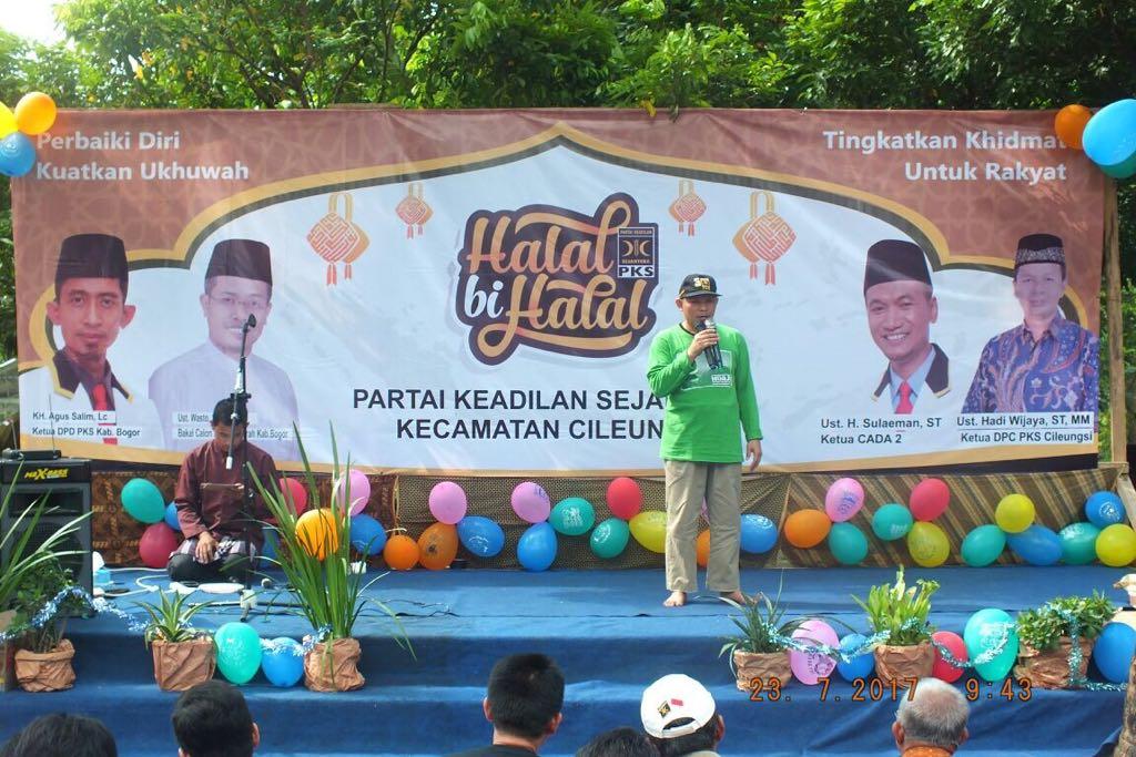 Semarak Halal Bihalal Partai Pks Cileungsi Online News Indonesia