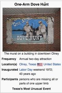 One Arm Dove Hunt Image