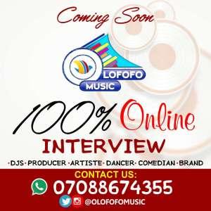 OLOFOFO ONLINE INTERVIEW + OLOFOFO TV