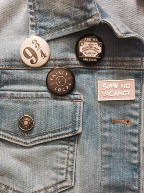 Denim Jacket Pins