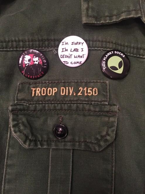Utility Jacket Pins