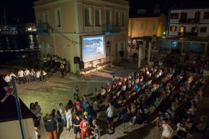 3rd International Film Festival at Kastellorizo Kastellorizo. Dodecanese. Greece. Europe.  George Detsis. 08/2018