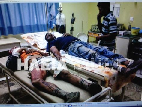Μανωλαδα τραυματιες