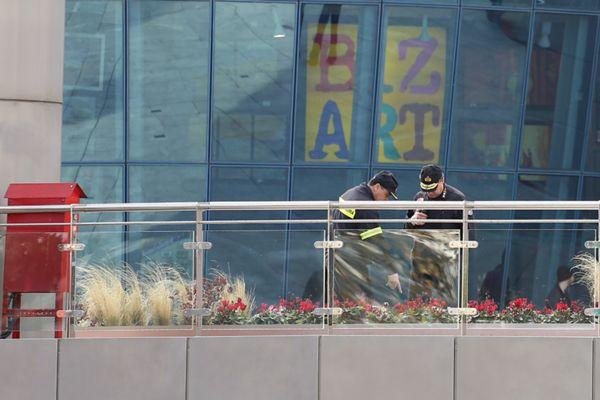 εκρηξη στο mall