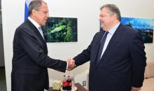 Λαβρόφ: Στόχος μας η ενίσχυση των εμπορικών σχέσεων με την Ελλάδα