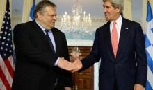 Συνάντηση Κέρι – Βενιζέλου: Στήριξη στην Ελλάδα αλλά και «αγκάθι» η τρομοκρατία
