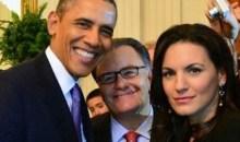 H selfie φωτογραφία του Ομπάμα με την Όλγα Κεφαλογιάννη και τον Πάνο Παναγιωτόπουλο (photo)
