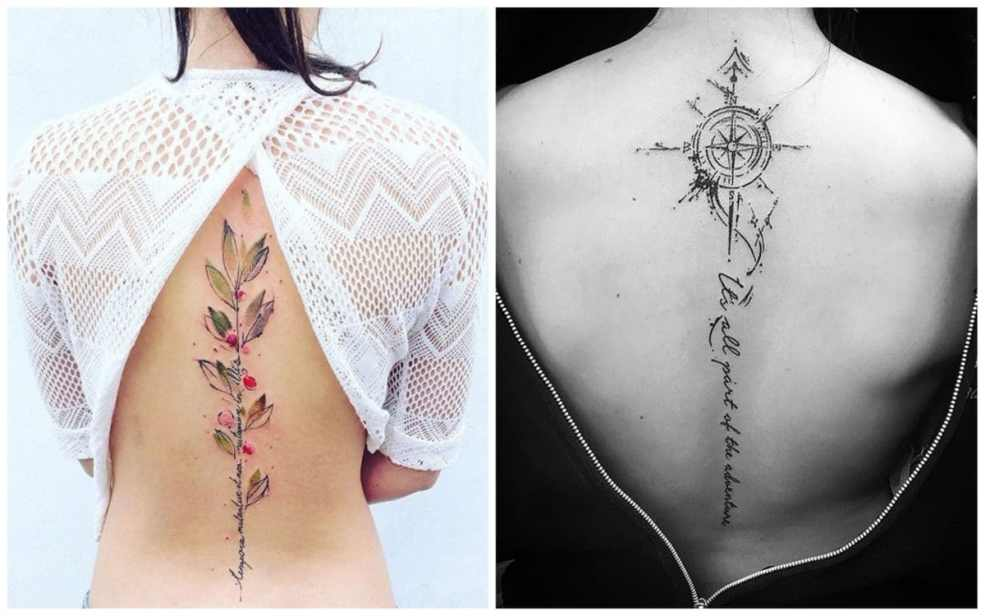 19 лучших идей тату на спине для девушек ололо смешные картинки