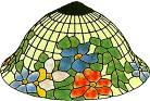 Virágkosár lámpa