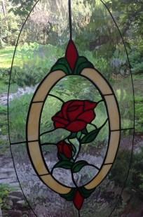 Tiffany üveg - romantika