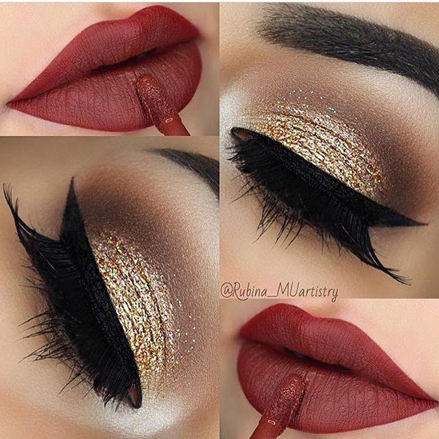 Maquiagem Dourada: Make para Todas as Ocasiões [Fotos e Tutoriais]