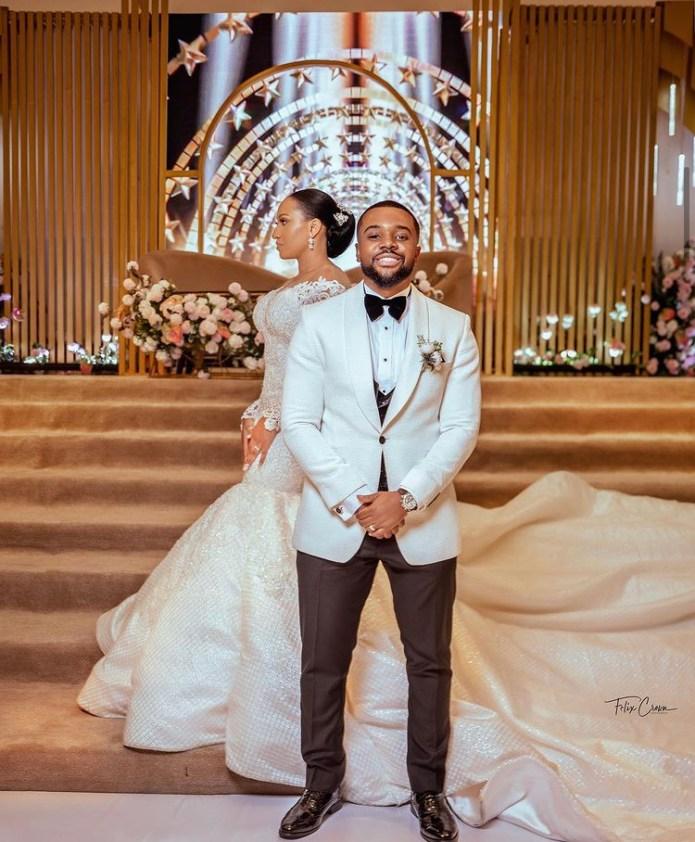 Williams Uchemba Releases His Wedding Photos