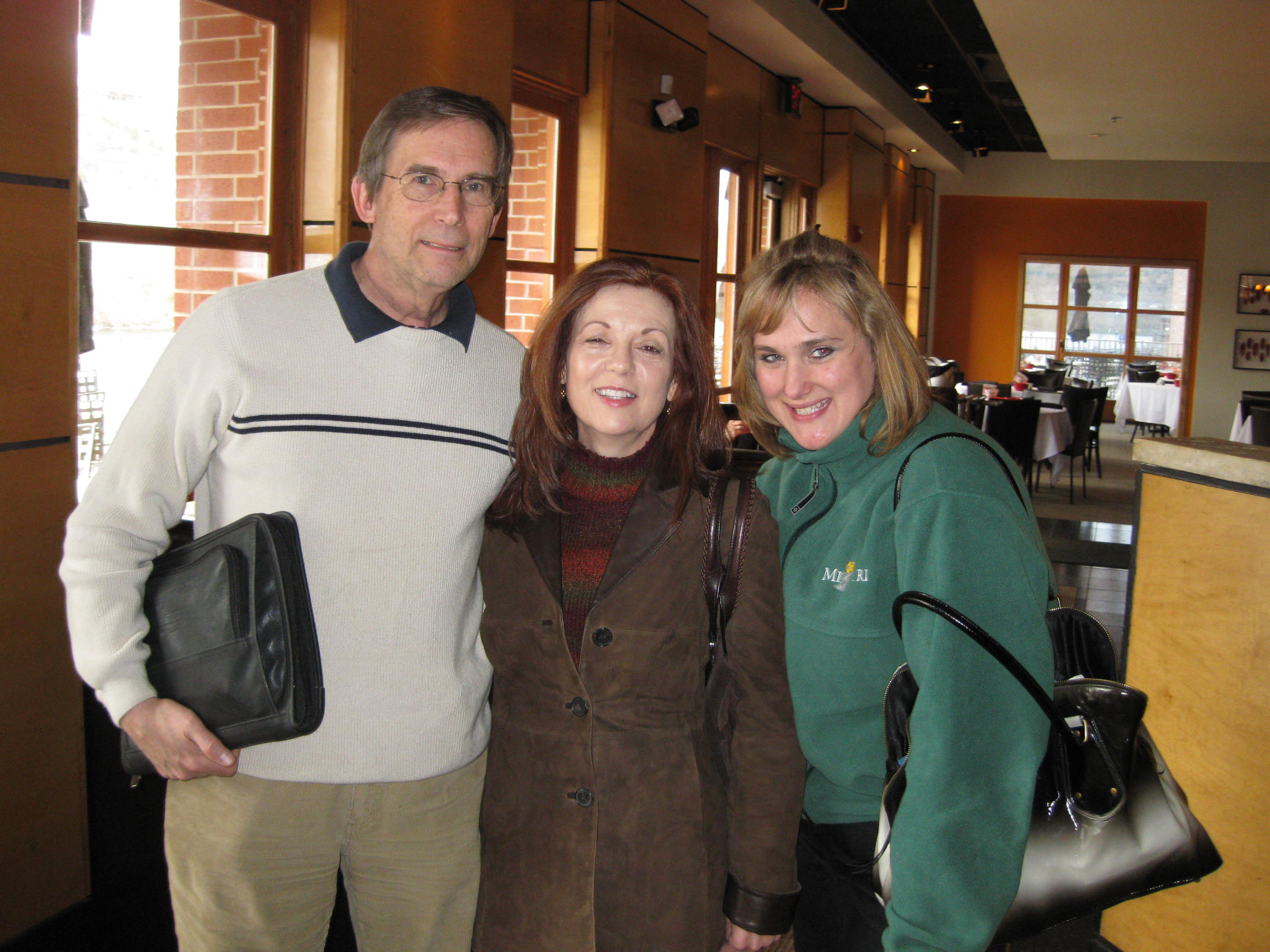 Jerry, Raeanne and Andrea at Cantina Laredo