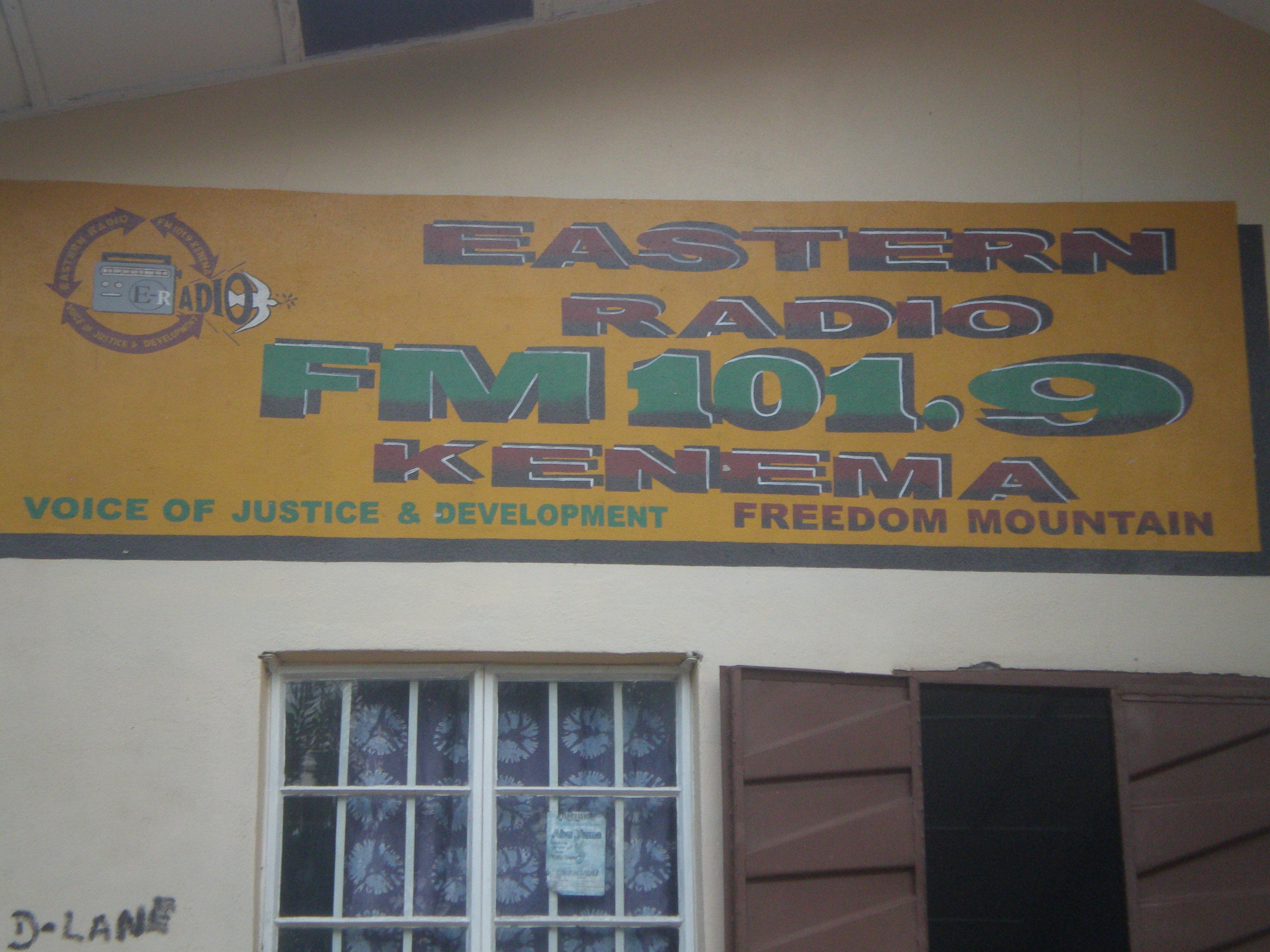 Eastern Radio had us as guest speakers on 2 of its hour long radio shows