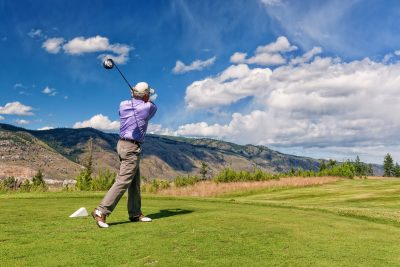 Photo shoot of fundraising golf tournament for Autism in Kamloops