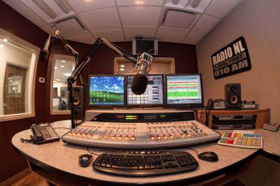 Radio station Master Control-room product photo shoot