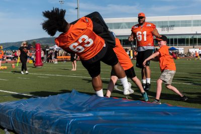 Event photoshoot of BC Lions Training Camp