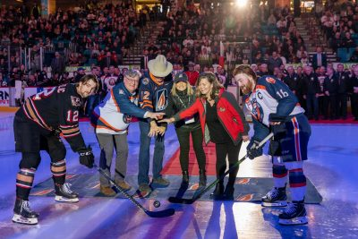 Special Event photoshoot for Blazers Memorial Cup Anniversary Celebrations