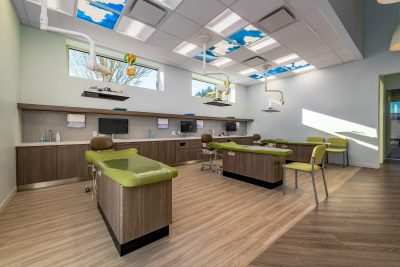 Architectural photoshoot of dental clinic for henry schein designs